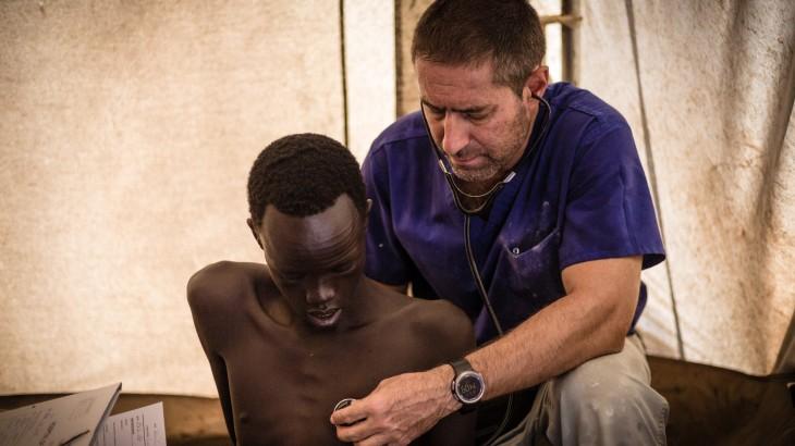 斯洛博丹——在南苏丹当战伤外科医生