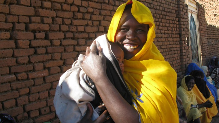 苏丹达尔富尔:红十字国际委员会回归,救济发放,民众欢腾