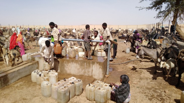 Sudan: Providing water for vulnerable communities in Darfur