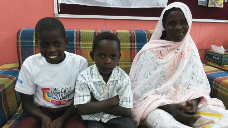 جنوب السودان/ السودان: لمّ شمل عائلة عبر الحدود