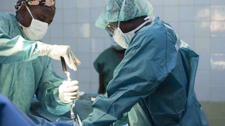 """中非共和国:班吉暴力事件后创伤病房""""全部满员"""""""