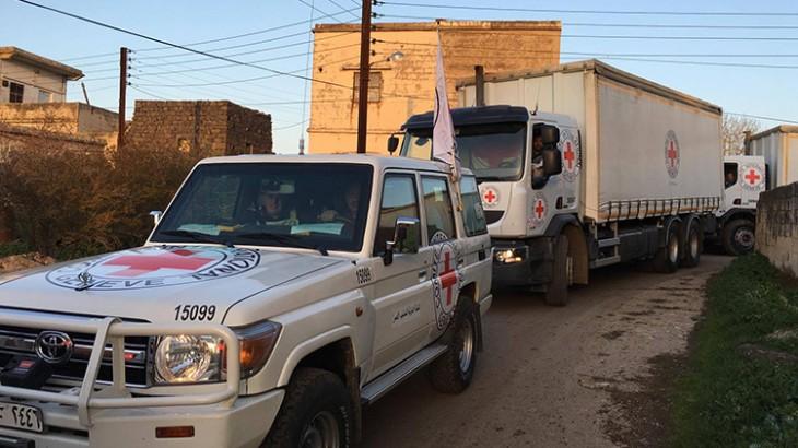 Сирия: впервые за несколько месяцев 70 000 человек получили гуманитарную помощь в районе Хула в центральной Сирии