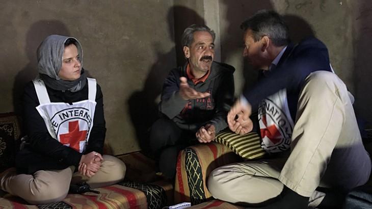 """叙利亚:红十字国际委员会主席表示""""是时候结束这场可怕的战争了"""""""