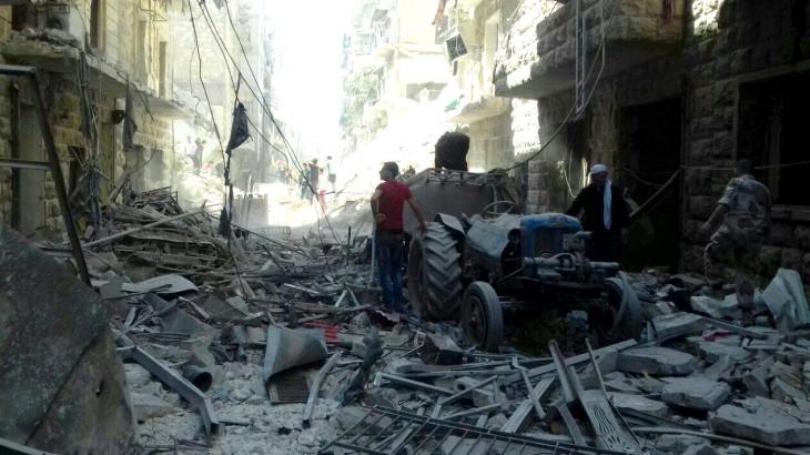 """叙利亚阿勒颇:""""当代最具破坏性的城市冲突之一"""""""
