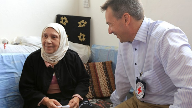 Syria: ICRC president seeks broader humanitarian role for the organization