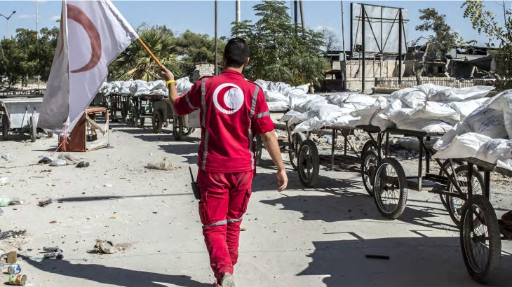 Syria crisis: humanitarian situation, needs and response