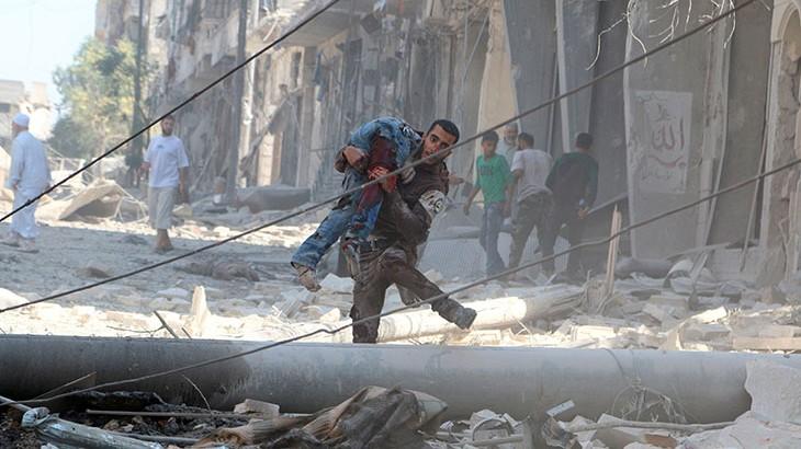 """红十字国际委员会驻叙利亚最高官员表示阿勒颇局势""""令人震惊且难以应对"""""""