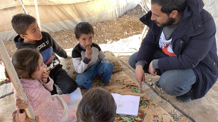 Operatives Update zu Syrien: 6500 Mahlzeiten pro Tag; Unterstützung gefährdeter unbegleiteter Kinder