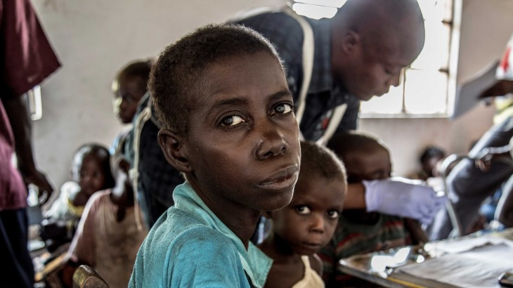 Stricken by communal violence and malnutrition in Tanganyika, Democratic Republic of the Congo