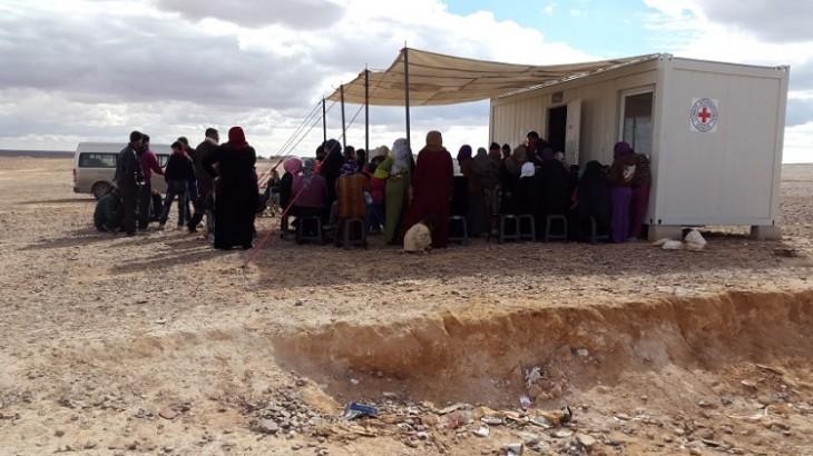 La communauté internationale doit répondre d'urgence aux besoins de dizaines de milliers de personnes bloquées entre la Jordanie et la Syrie