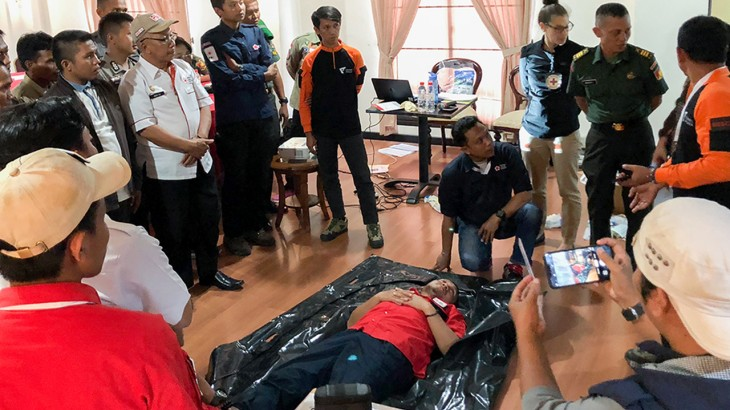 Indonesia: 60 first responders get trained in management of dead during emergencies