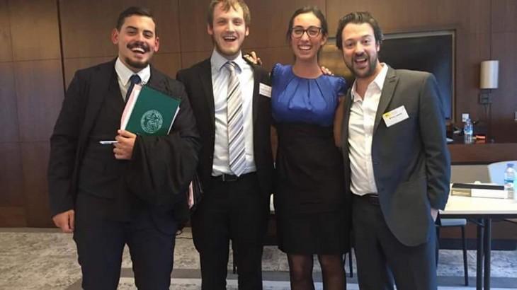 Equipo argentino gana Concurso Jean Pictet 2017 sobre derecho internacional humanitario