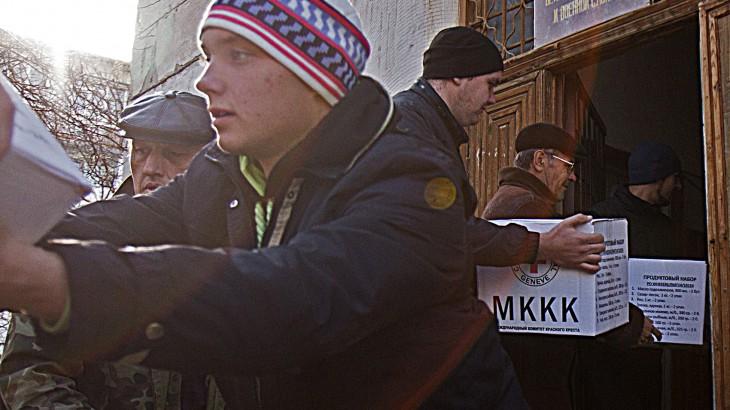Crise na Ucrânia: atividades do CICV entre outubro de 2014 e janeiro de 2015