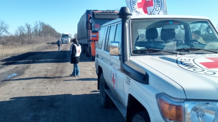 Ukraine: Urgently needed assistance delivered to people trapped in Debaltseve