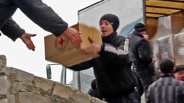 Ucrania/Rusia: dirigentes acuerdan que la ayuda debe llegar al este de Ucrania