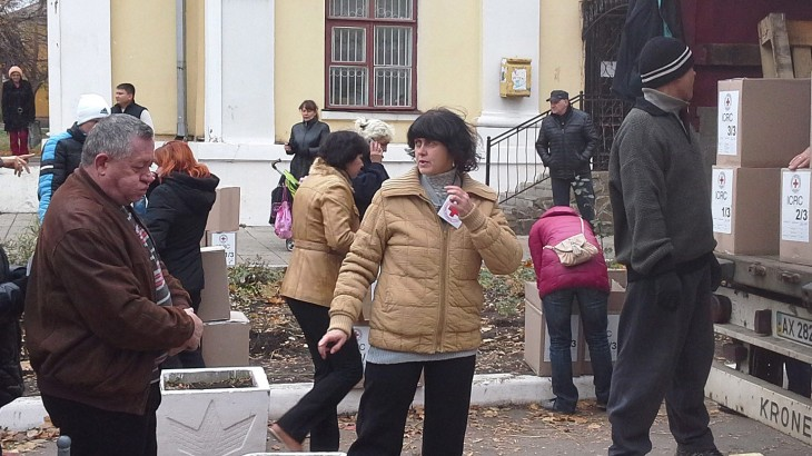 Ukraine crisis: Striving to reach people in need