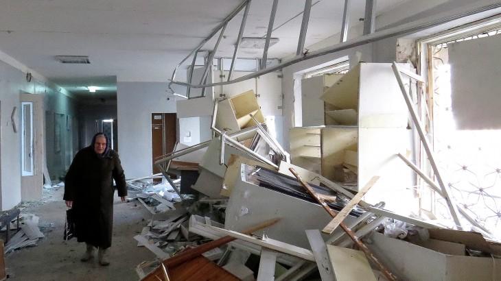 أوكرانيا: قصف مستشفى آخر في دونيتسك يهول اللجنة الدولية ويفزعها