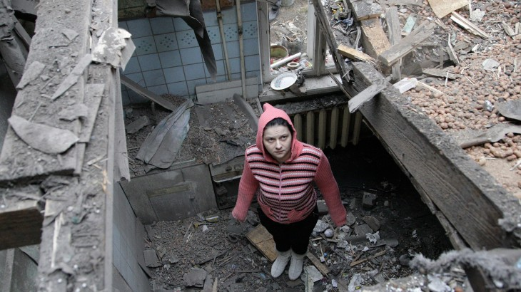 Ukraine: Civilians caught in crossfire