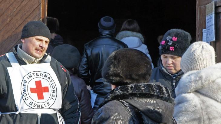 Crise na Ucrânia: Imagens de desespero em Sviatogorsk