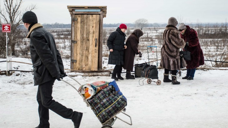 #NewNormal: Tales of life on the front line in eastern Ukraine