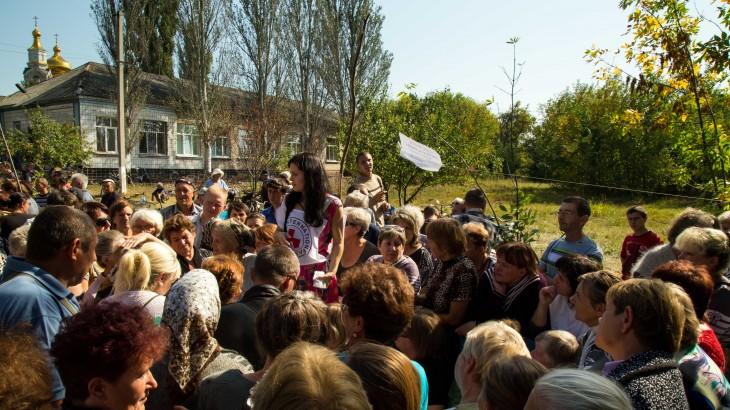 Украина: стойкость женщин во время кризиса
