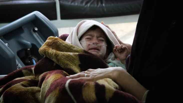 阿富汗:医院遇袭,儿童受难