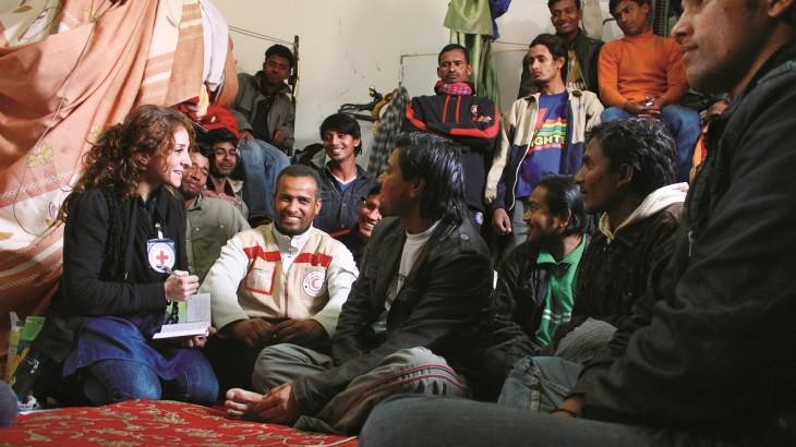 دور اللجنة الدولية في مساعدة المهاجرين