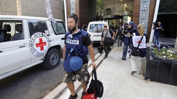 热线:帮助执行危险任务的记者