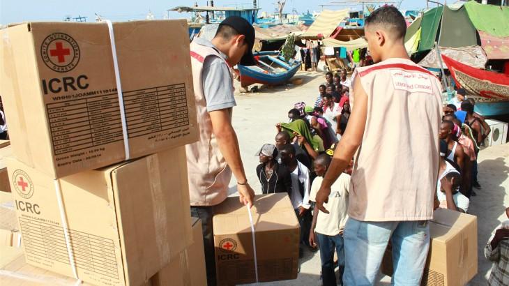 RTBF:  Comment s'organisent et se maintiennent les interventions humanitaires et médicales dans les zones de conflit ?
