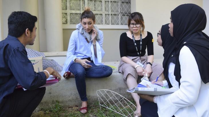 马来西亚:学生在角色扮演竞赛中检验他们的国际人道法知识