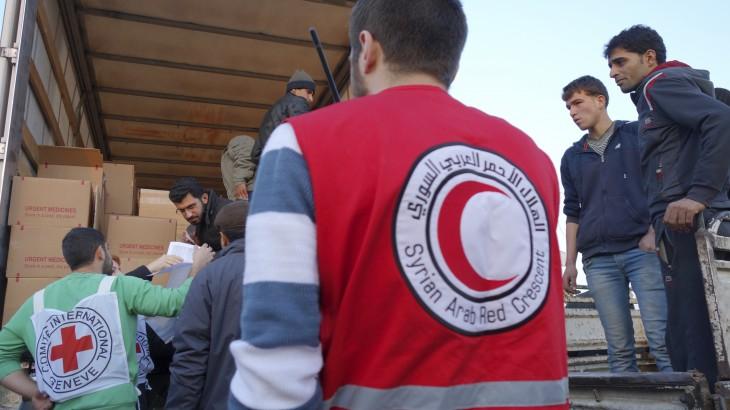 سورية: الهلال الأحمر والصليب الأحمر من أجل الجميع في كل مكان