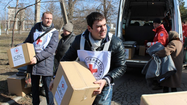 Ukraine crisis: ICRC activities in February and March 2015
