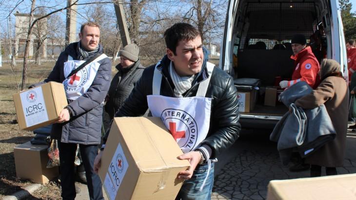 Crisis en Ucrania: actividades del CICR en febrero y marzo de 2015
