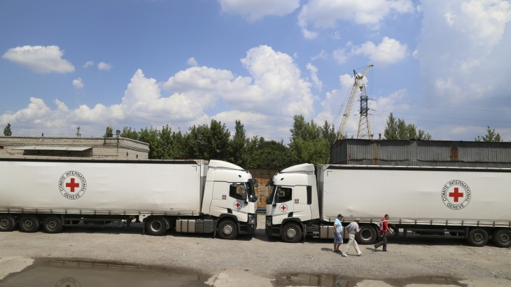 乌克兰东部超35万人面临严重缺水