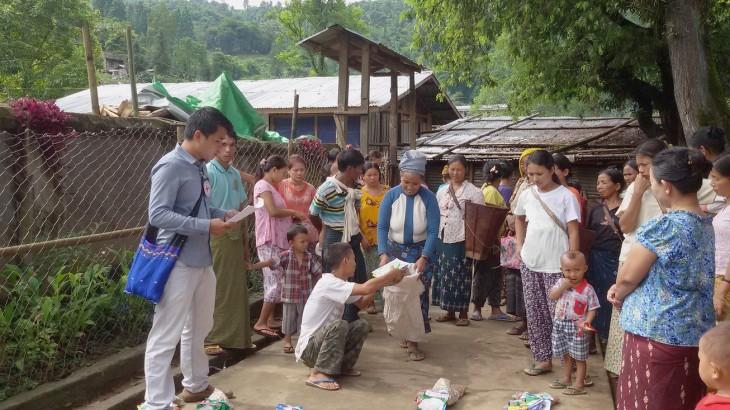 Myanmar: fatos e números de 2015