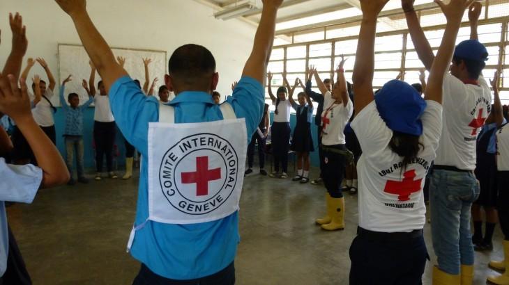 El Movimiento de la Cruz Roja en Venezuela, trabajo neutral e imparcial