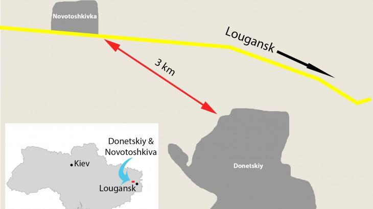 Ukraine : des difficultés identiques de part et d'autre de la ligne de front