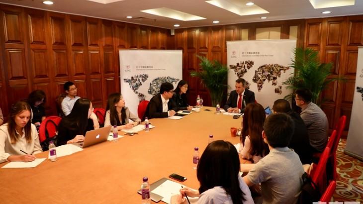 """央广网:红十字国际委员会主席期待与中国加强合作助推""""一带一路""""建设"""
