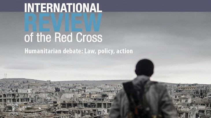International Review of the Red Cross - War in cities