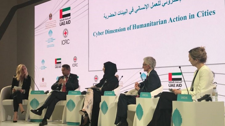 Cyber Dimension of Humanitarian Action in Cities