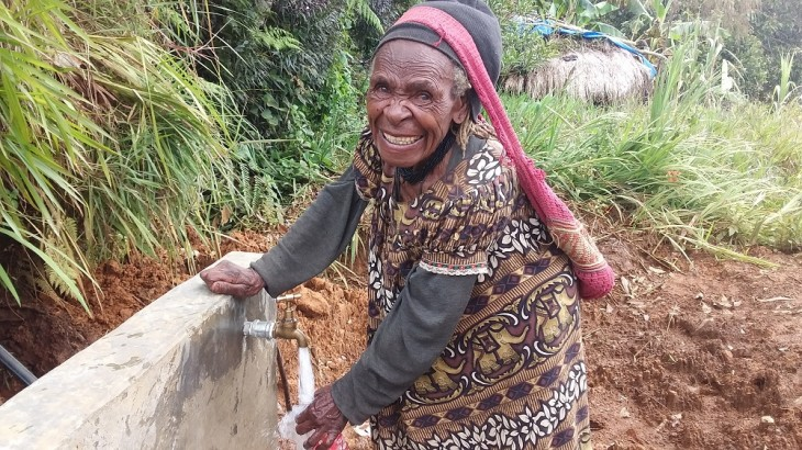 Papua New Guinea: Rainwater to ease burden on women of Kunu village