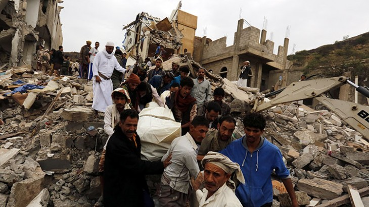 Yemen: Airstrikes in residential area of Sana'a are outrageous