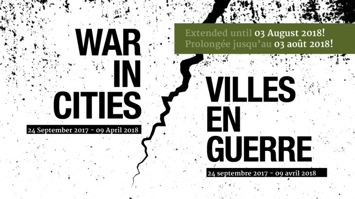 Exhibition on urban warfare and its impact on the civilian population