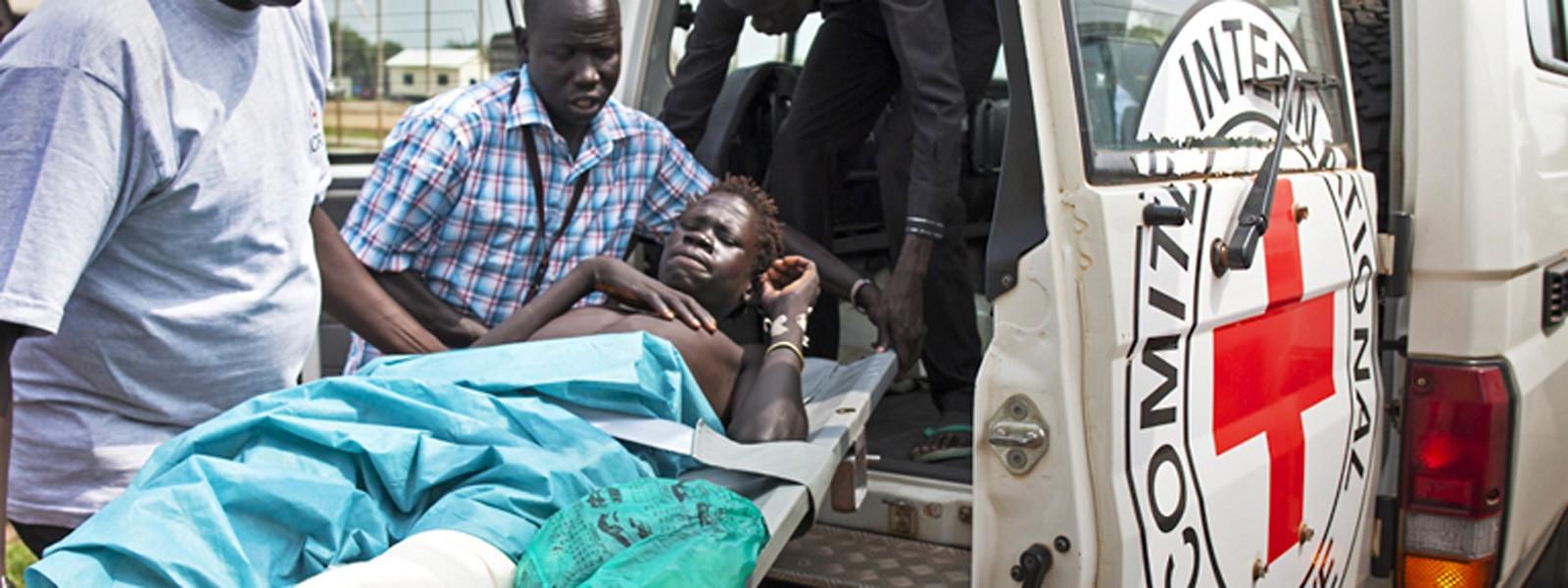 为南苏丹捐款