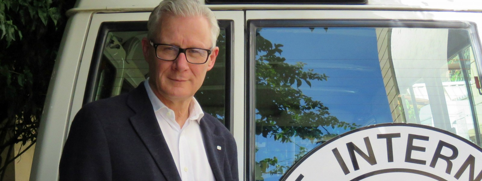 Christoph Harnisch, jefe de la delegación del CICR en Colombia