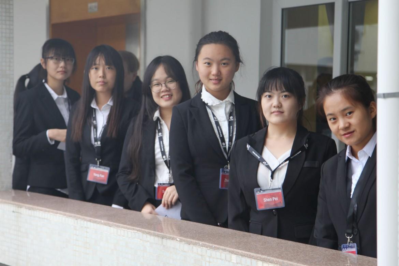 2015年12月5日,厦门大学的志愿者们。
