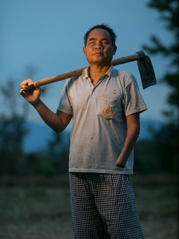 老挝,沙拉湾(Salavan)地区,纳科乔(Nakhoysao)