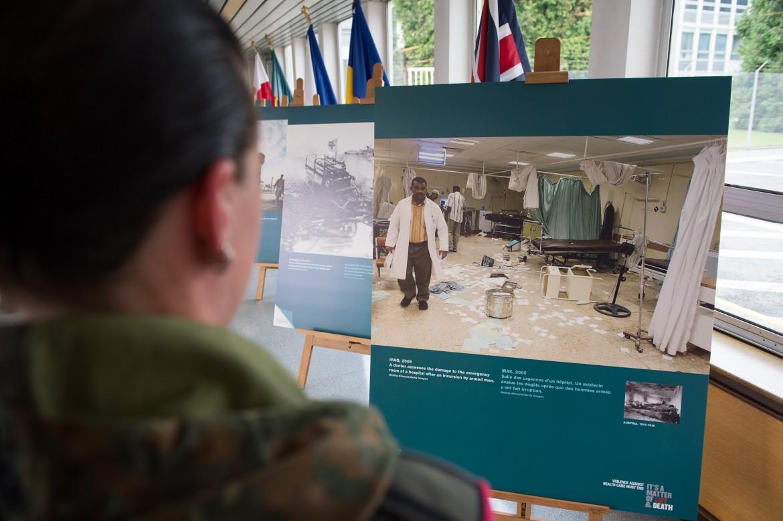 Photo exhibition at SHAPE