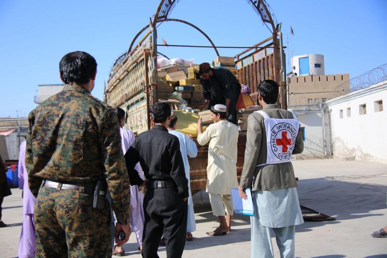 阿富汗拉什卡尔加的赫尔曼德省监狱