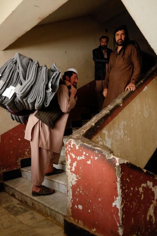 Pul-i-Charkhi prison in Kabul, Afghanistan